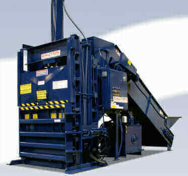 Closed Door Horizontal Baler